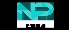 NP Sales logo, national pontoon